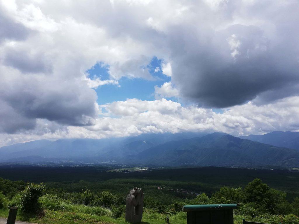 ペットと遊ぶ 長野県富士見町 富士見高原リゾート  望岳の丘展望台