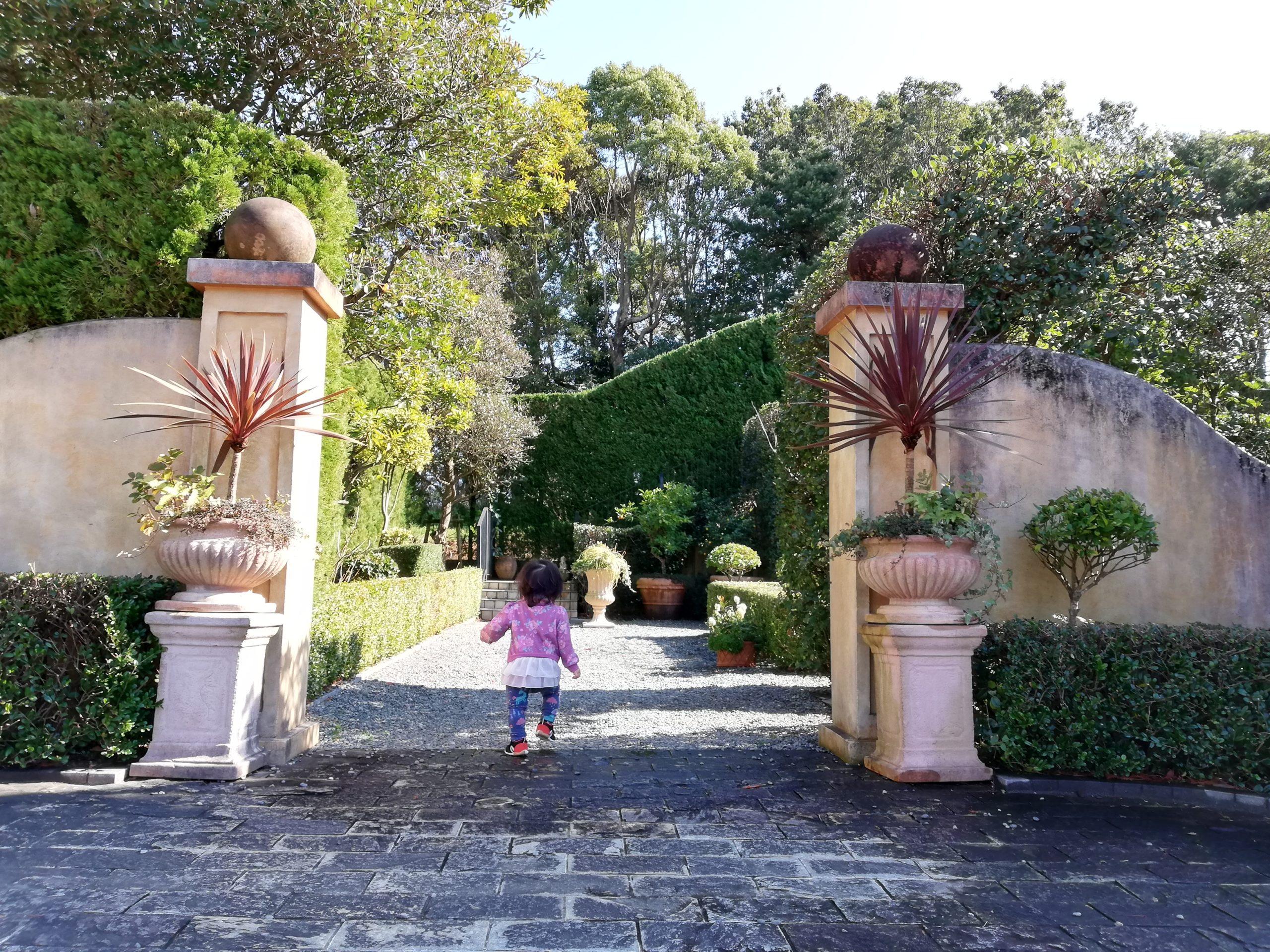 静岡県内でペットと遊ぶ 静岡県浜松市 浜名湖ガーデンパーク 国際庭園 イタリア 子どもが気に入った!