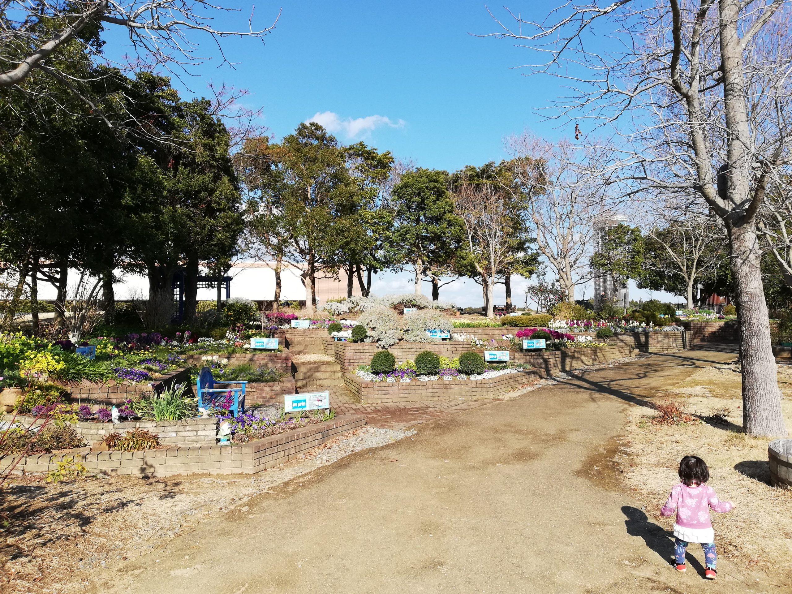 静岡県内でペットと遊ぶ 静岡県浜松市 浜名湖ガーデンパーク 子どもも歩きやすい道